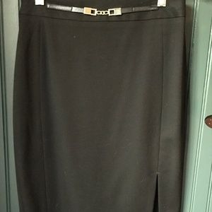 Express pencil skirt- size 0 - Black